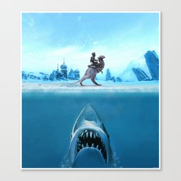 Jaws of Hoth Canvas Print