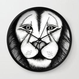 Maned Lion King Wall Clock