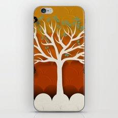 Fruits Talk White iPhone & iPod Skin