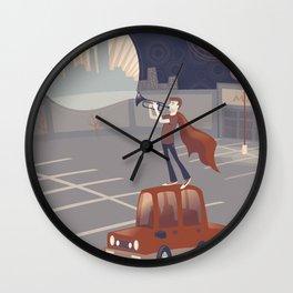 Sufjan Stevens Poster Wall Clock