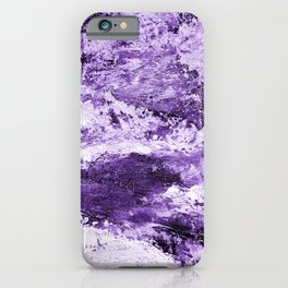 Purple& white abstract 170118ps2 iPhone Case