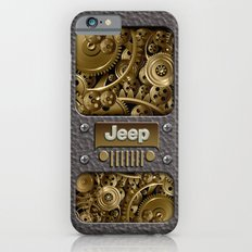 Steampunk Jeep with Gear machines iPhone 4 4s 5 5c 6, pillow case, mugs and tshirt Slim Case iPhone 6