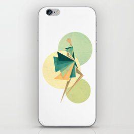 Walk the walk iPhone Skin