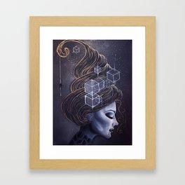 HEXY Framed Art Print