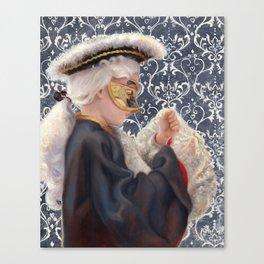 Venetian boy Canvas Print