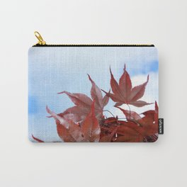 red leaf sky Carry-All Pouch