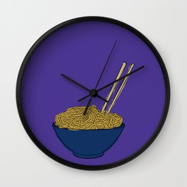 Noodle Bowl Wall Clock