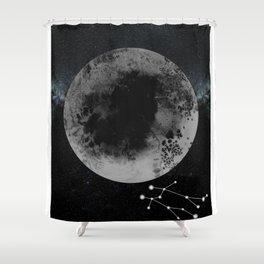 Zodiac Gemini Shower Curtain