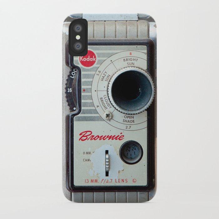 Brownie 8mm Movie Camera iPhone Case