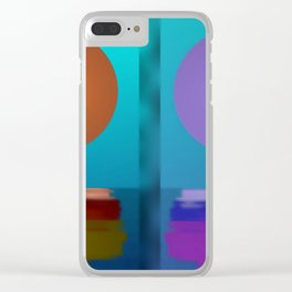 Many sides of life ... Clear iPhone Case