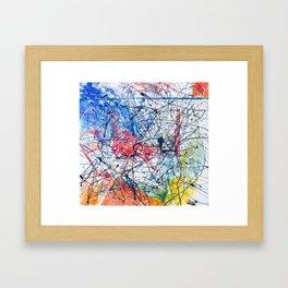 Soixante Framed Art Print