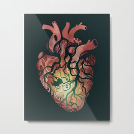 Follow Your Heart Metal Print