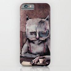 Hemingway cat iPhone 6 Slim Case