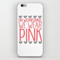 mean girls iPhone & iPod Skins featuring Mean Girls by GeekCircus