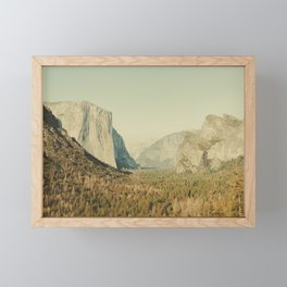 Yosemite Valley II Framed Mini Art Print