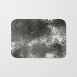 Black grey batic look Bath Mat