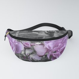 Industrial Roses Fanny Pack
