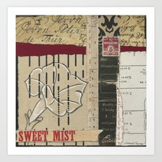 Sugar-Coated Offenses Art Print