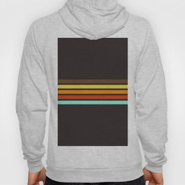 5 Thin Colorful Stripes 19 Hoody