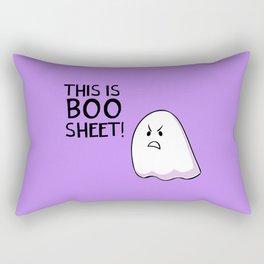 Grumpy Ghost Rectangular Pillow