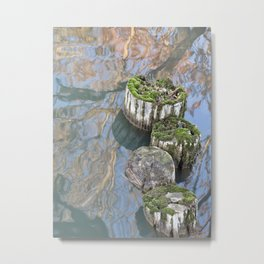 reflections on water Metal Print