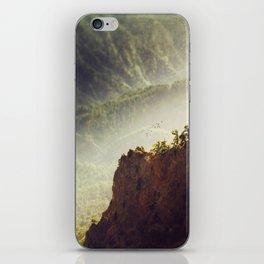 Long Way Down - Caldera de Taburiente - La Palma iPhone Skin