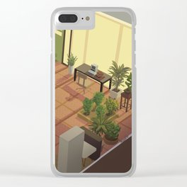 amelie's garden Clear iPhone Case
