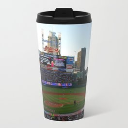 Indians Stadium Travel Mug