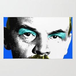 Ooh Mr Lenin - Blue Rug