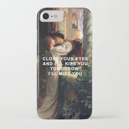 Romeo and Juliet Loving iPhone Case