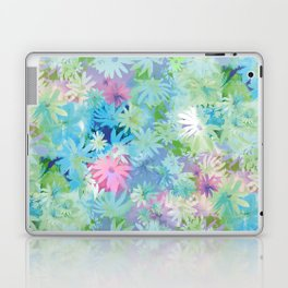 A bed of flowers. Laptop & iPad Skin