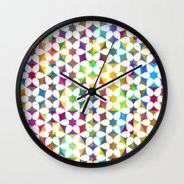 Modern Stars Wall Clock