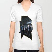 supernatural V-neck T-shirts featuring Supernatural by Clara J Aira