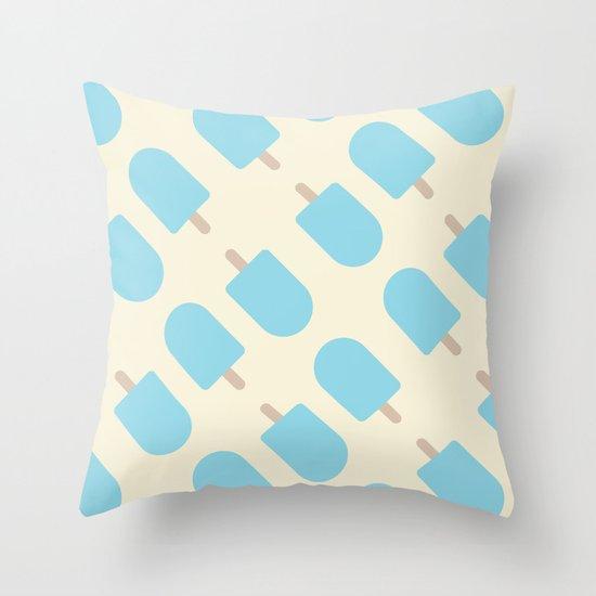 ice Cream II Throw Pillow