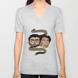 The Beauty and the Beast [Sterek] Unisex V-Neck