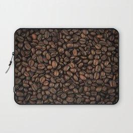 Roasted Arabica Coffee Beans - Brown Laptop Sleeve