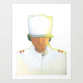 KL Portrait Art Print