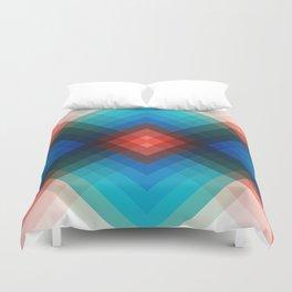 Colorful bands V Duvet Cover