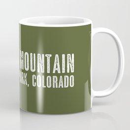 Deer: Rocky Mountain, Colorado Coffee Mug