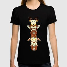 Totem Womens Fitted Tee Black SMALL