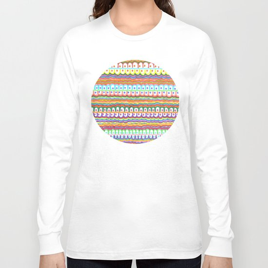 fusion color invasion Long Sleeve T-shirt
