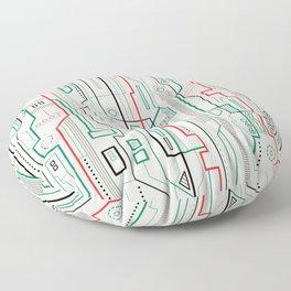 Technicality Floor Pillow