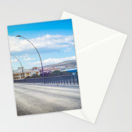 The road and lights in Spain, Andalusia Stationery Cards