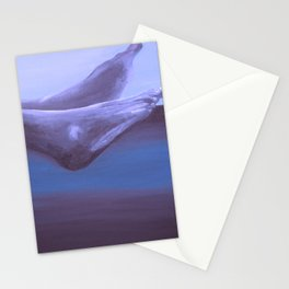 Landscape with Feet Stationery Cards