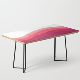Layered Forest Hills - Purple to Pink Coffee Table
