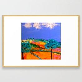 Cribath The Sleeping Giant Framed Art Print