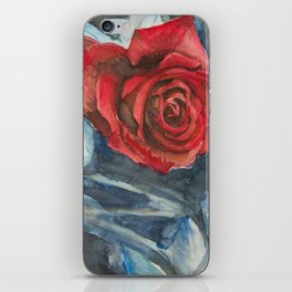 Water Color Rose Study  iPhone Skin