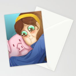 Mable and Waddles Stationery Cards