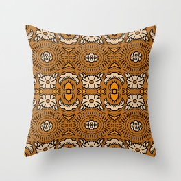 BANDANA GOLD BROCADE Throw Pillow