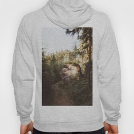 Forest trail - Landscape and Nature Photography Hoody